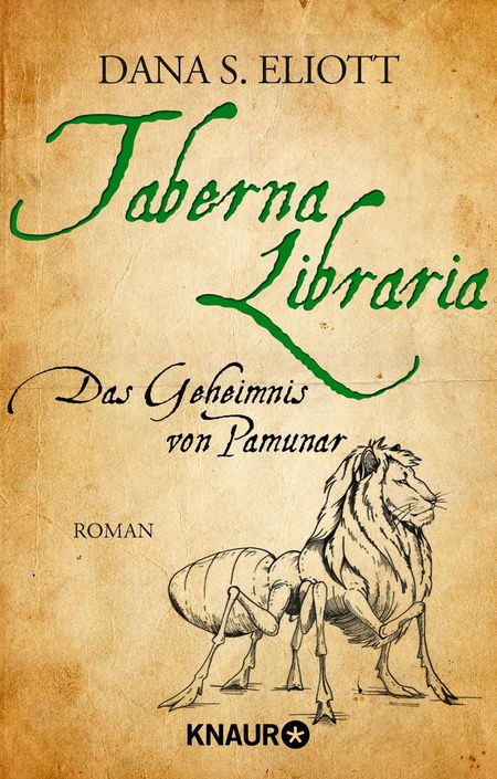Taberna Libraria - Das Geheimnis von Pamunar - Das Cover