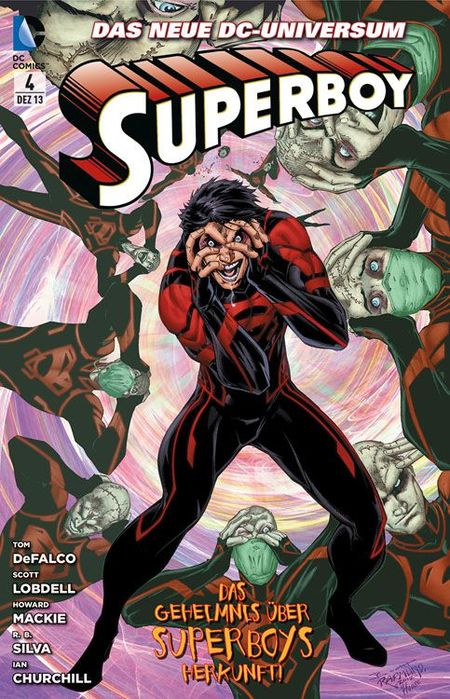 Superboy 4: Superboys Geheimnis - Das Cover