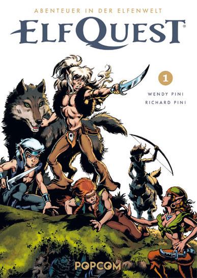 Abenteuer in der Elfenwelt: Elf Quest 1 - Das Cover