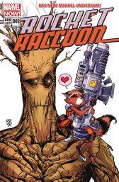 Rocket Raccoon 2: Quer durch die Galaxie und dann links - Das Cover
