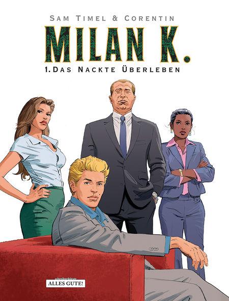 Milan K. 1: Das nackte Überleben - Das Cover