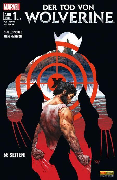 Der Tod von Wolverine - Das Cover