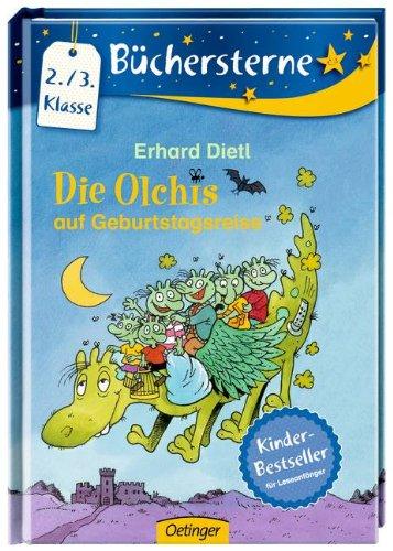Die Olchis auf Geburtstagsreise - Das Cover