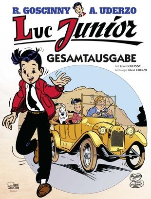 Luc Junior Gesamtausgabe - Das Cover