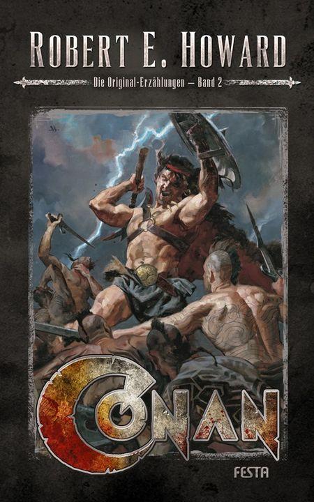 Conan - Band 2: Die Original-Erzählungen - Das Cover