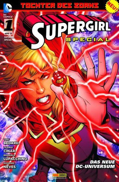 Supergirl Special 1: Tochter des Zorns - Das Cover