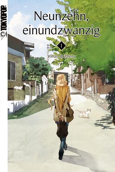 Neunzehn, einundzwanzig 1 - Das Cover