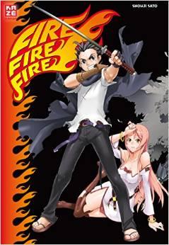 Fire Fire Fire - Das Cover