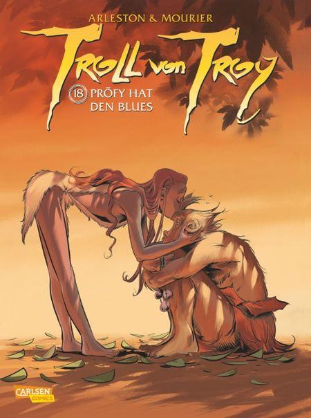 Troll von Troy 18: Pröfi hat den Blues - Das Cover