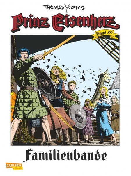 Prinz Eisenherz 89: Familienbande - Das Cover