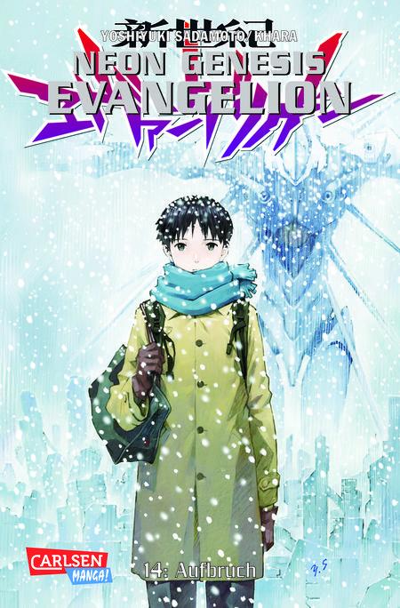 Neon Genesis Evangelion 14: Aufbruch - Das Cover