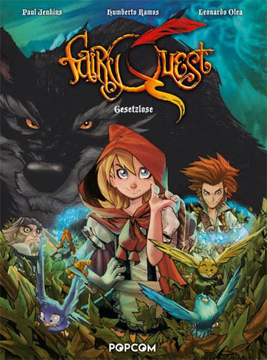 Fairy Quest 01: Gesetzlose - Das Cover