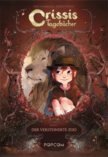 Crissis Tagebücher 1: Der versteinerte Zoo - Das Cover