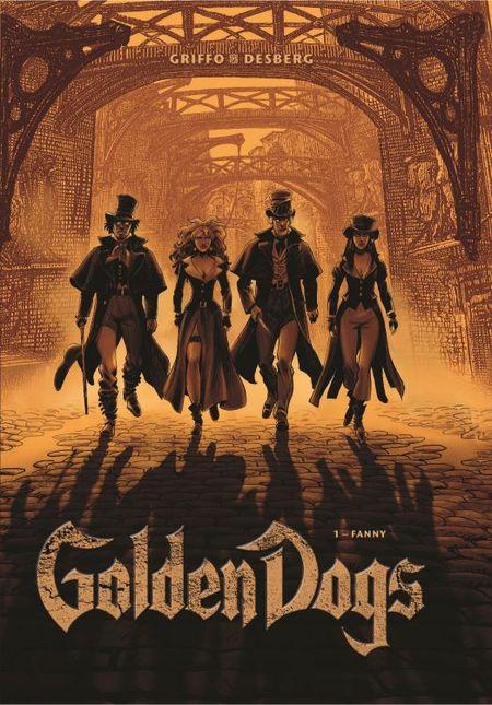 Golden Dogs - Die Meisterdiebe von London 1: Fanny - Das Cover