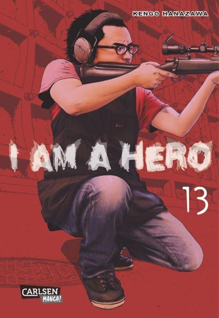 I am a Hero 13 - Das Cover