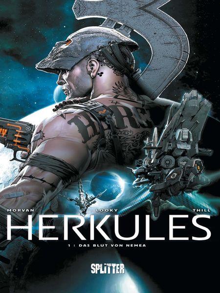 Herkules 1: Das Blut von Nemea - Das Cover
