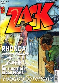 Zack 195 - Das Cover