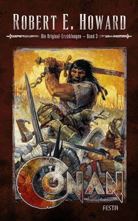 Conan - Band 3: Die Original-Erzählungen - Das Cover