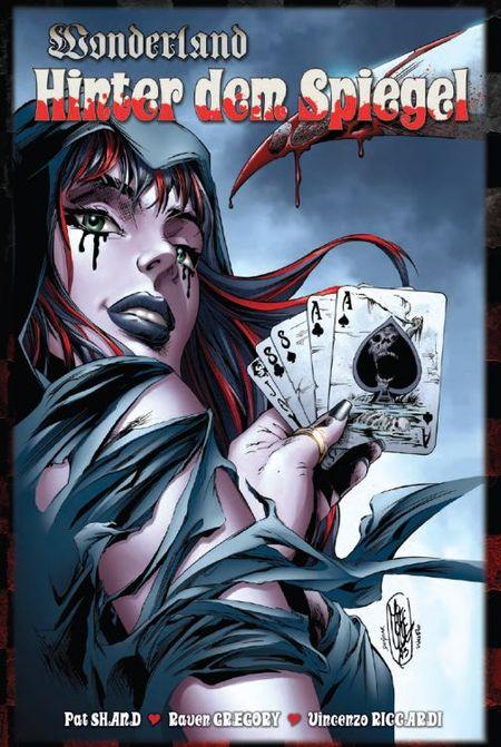 Wonderland 10: Hinter dem Spiegel - Das Cover