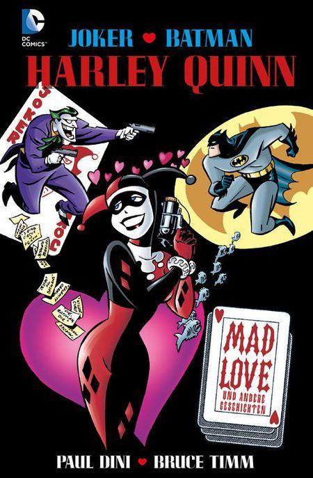 Harley Quinn: Mad Love - Das Cover