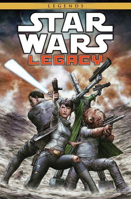 Star Wars Sonderband 87: Legacy II 4 - Die letzte Schlacht - Das Cover