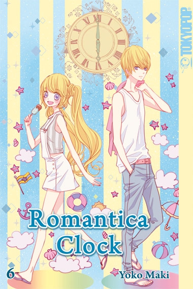 Romantica Clock 6 - Das Cover