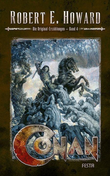 Conan - Band 4: Die Original-Erzählungen - Das Cover