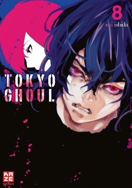 Tokyo Ghoul 8 - Das Cover