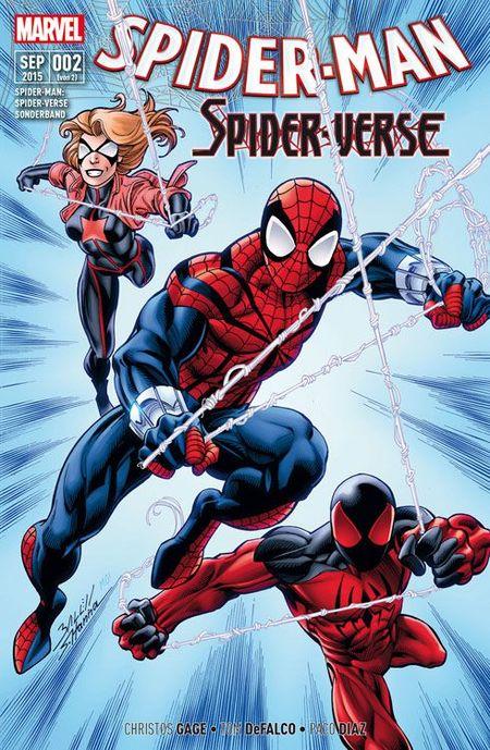Spider-Man: Spider-Verse Sonderband 2 - Das Cover
