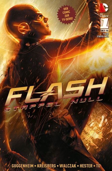 The Flash: Staffel Null 1 - Das Cover