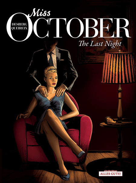 Miss October 4: The Last Night - Das Cover