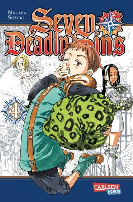 Seven Deadly Sins 4 - Das Cover