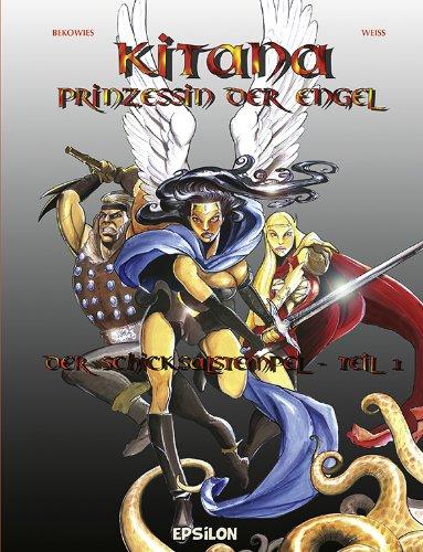 Kitana – Prinzessin der Engel: Der Schicksalstempel 1 - Das Cover