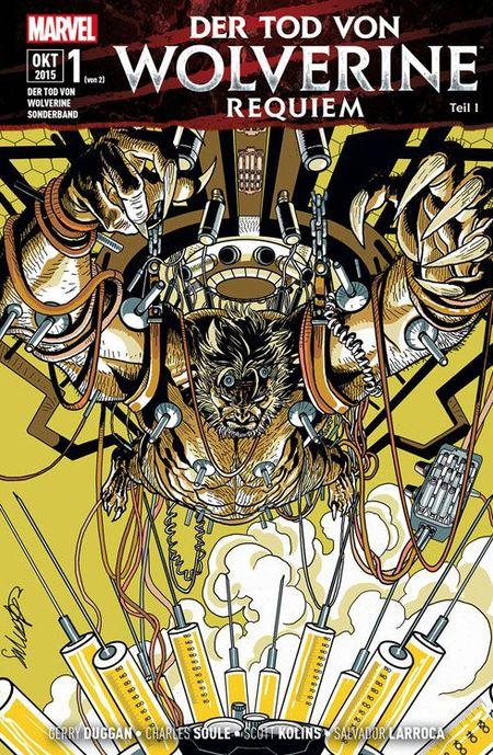 Der Tod von Wolverine Requiem 1 - Das Cover