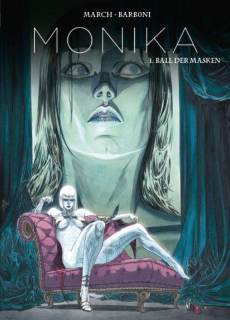 Monika Bd. 1 Ball der Masken - Das Cover