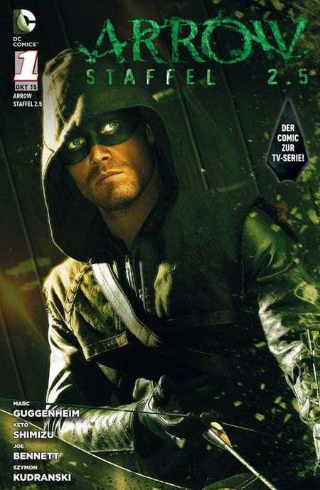 Arrow Staffel 2.5 Band 1 - Das Cover