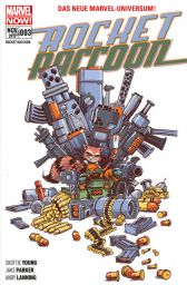 Rocket Raccoon 3: Krawall im All - Das Cover