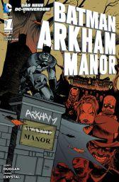 Batman: Arkham Manor - Das Cover