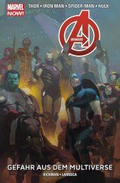 Marvel Now Paperback: Avengers 4 - Gefahr aus dem Multiverse - Das Cover