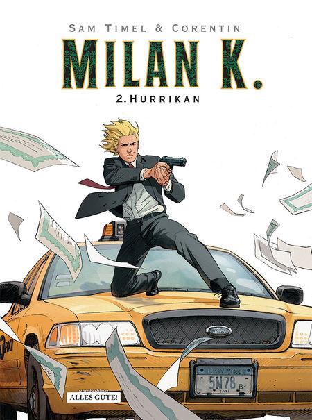 Milan K. 2: Hurrikan - Das Cover