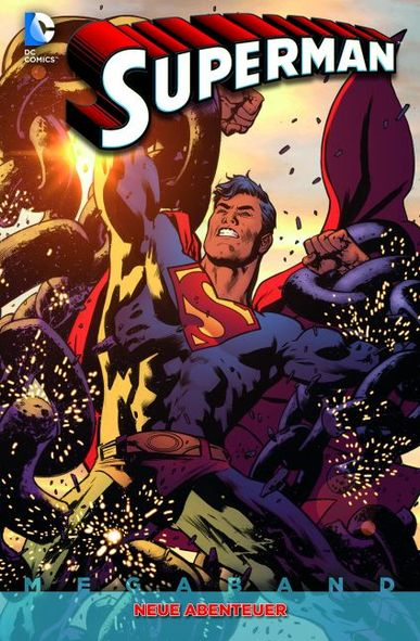 Superman Megaband 1: Neue Abenteuer - Das Cover