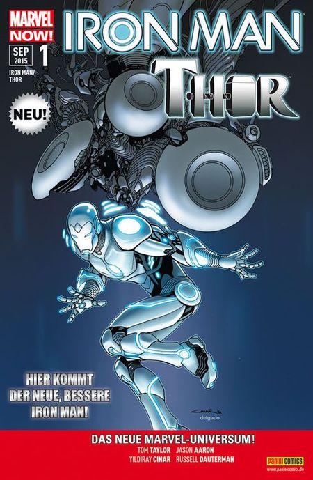 Iron Man/Thor 1 - Das Cover