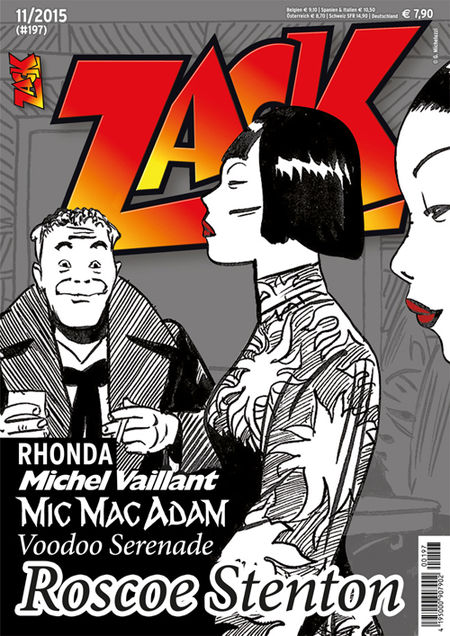 Zack 197 - Das Cover