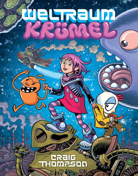 Weltraumkrümel - Das Cover