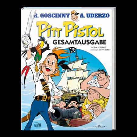 Pitt Pistol Gesamtausgabe - Das Cover