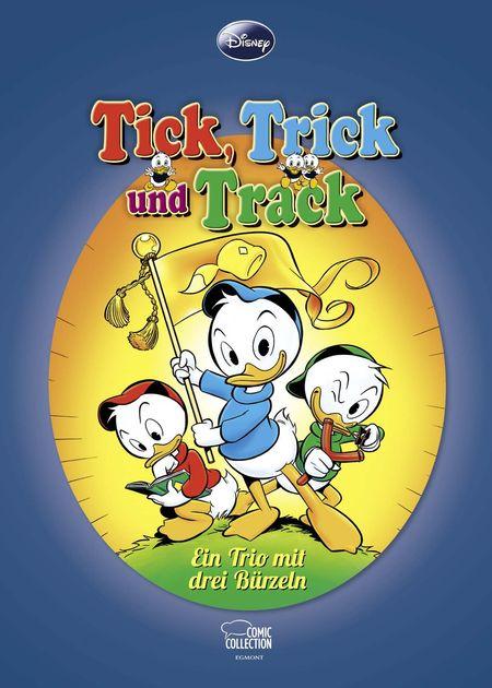 Tick, Trick und Track: Ein Trio mit drei Bürzeln - Das Cover