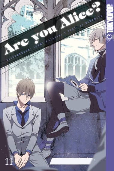Are you Alice? 11 - Das Cover
