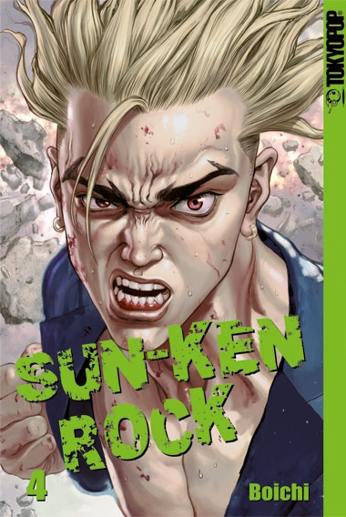 Sun-Ken Rock 4 - Das Cover