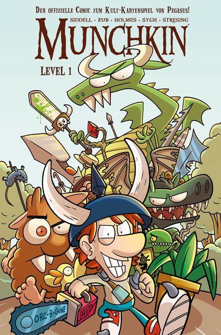 Munchkin Level 1 - Das Cover