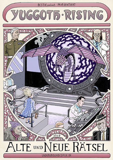 Yuggoth Rising 4 - Das Cover